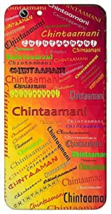 Chintaamani (A Gem) Name & Sign Printed All over customize & Personalized!! Protective back cover for your Smart Phone : Samsung I8190 Galaxy S III mini ( S-3 Mini )