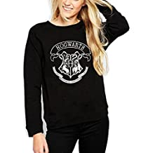 Sudadera - Jersey Estampado Logotipo Harry Potter Chica Negro