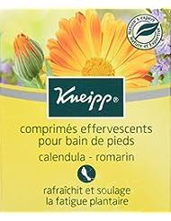 Kneipp Comprimés Effervescents pour Bain de Pieds Boîte de 6