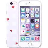 iProtect TPU Schutzhülle Apple iPhone 6 6s Softcase Hülle mit Herz Motiv