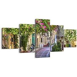 Bild auf Leinwand - Leinwandbilder - fünf Teile - Breite: 125cm, Höhe: 70cm - Bildnummer 2429 - fünfteilig - mehrteilig - zum Aufhängen bereit - Bilder - Kunstdruck - EA125x70-2429