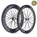 VCYCLE Nopea Carbon Rennrad Laufradsatz 700C Stahlrohr Vorne 60mm Hinten 88mm Shimano oder Sram 8/9/10/11 Speed