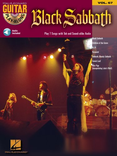 Black Sabbath Songbook: Guitar Play-Along Volume 67 (English Edition) (Videos Black History)