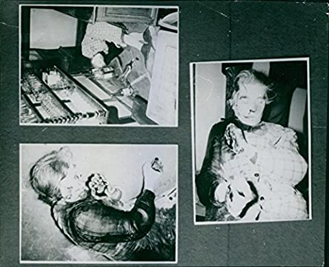 Vintage photo of Photographs of ded bodies.1965