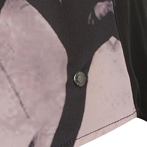 Firetrap Femmes Oxford T-Shirt Col Rond Tee Top Haut Manche Courte Décontracté Rose