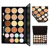 KRABICE Kosmetik Creme Concealer Palette, 20 Farbe Makeup Dunkler Kreis Concealer Creme Make Up Foundation Makeup Palette Set