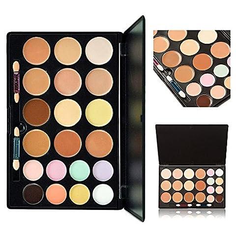 Palette de correcteur de crème pour cosmétiques, KRABICE Maquillage de maquillage de maquillage de maquillage de couleur 20