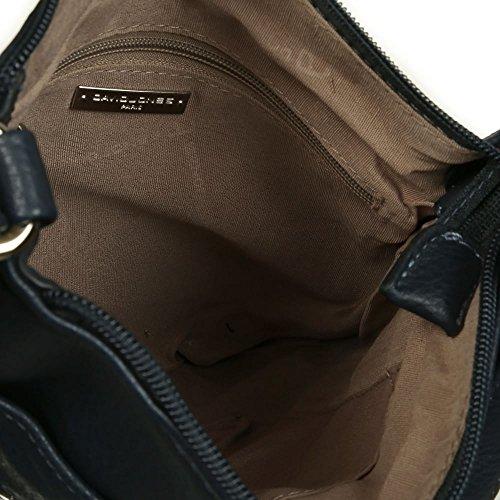 David Jones Toronto Damen Messenger Tasche Dunkelblau