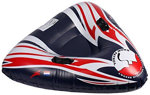 XXL 2in1 Fun Tube Reifen Wasserreifen Wasser Schnee Ring Reifen Schneering Bob Schlitten FUN Sport