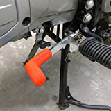 #10: Imported Rubber Shiftier Sock Boot Shoe Protector Shift Cover Motorcycle Dirt bike (Orange)