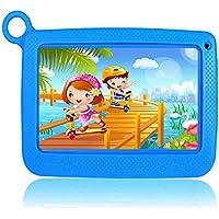 Tablet para Niños 7 Pulgadas WiFi Android 6.0 Quad Core 2GB RAM 32 GB ROM Bluetooth HD 1024x600, Google Play y Control Parental preinstalado - Azul