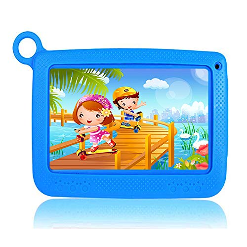 tablet per bambini Tablet per Bambini 7 Pollici Con WiFi Offerte 2 + 32GB - Android 6.0 Quad Core - Supporto Youtube Google Play 1 a 12 Anni Educativo - Naranja