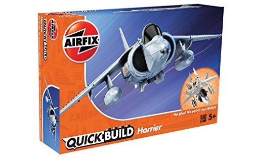 Airfix - Kit de construcción, avión BAE Harrier (Hornby CJ6009)