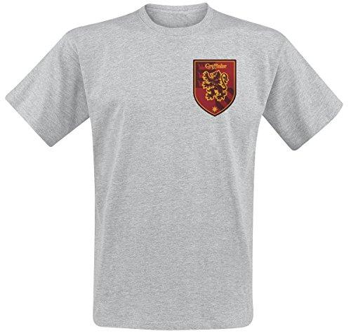 Sous licence officielle Harry Potter Gryffondor maison Logo T-shirt homme