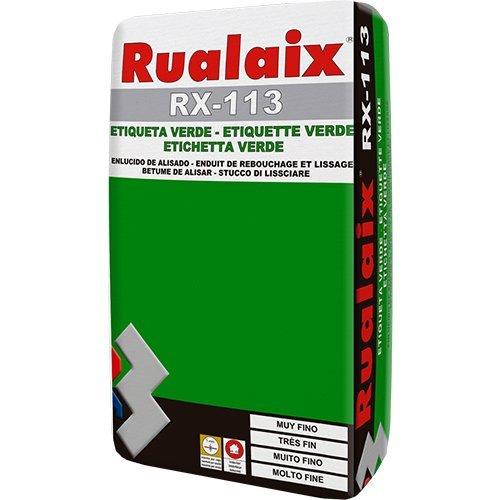 Charming Rualaix RX 113 U2013 Intonaco In Polvere, Etichetta Verde, Sacco Da 5 KG
