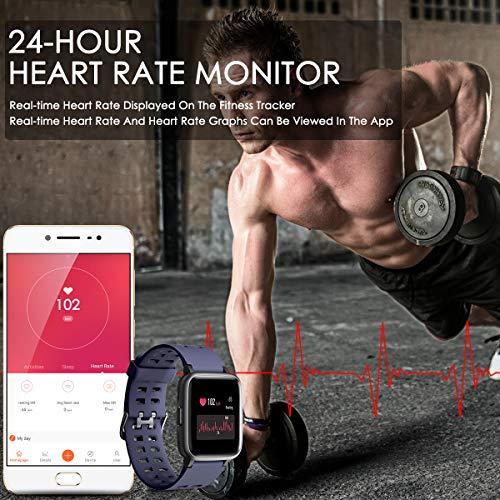 Zoom IMG-3 chereeki fitness tracker smartwatch ip68