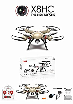 Syma X8HC 2.4G 4 channel RC QuadCopter Aircraft - The Perfect Gift For Your Children.