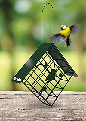 Peckish Diamond Suet Cake Block Bird Feeder by Crowders