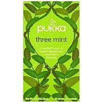 Pukka Three Mint Tea Organic Peppermint Spearmint and Fieldmint Tea -- 20 Tea Bags by Pukka preisvergleich bei billige-tabletten.eu