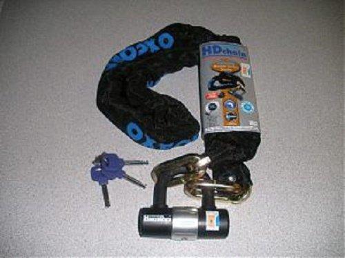 La Paire parfaite NEUF Oxford HD Chaîne et Disc-lock combiné avec le Oxford Bruteforce Mini Ancre