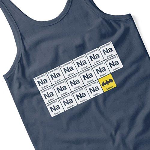 Batman Chemical Symbols Women's Vest Navy blue