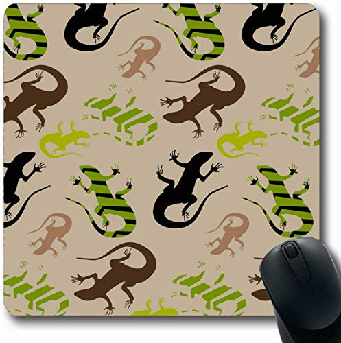 Natur / Schwarz Canvas An (Luancrop Mousepad Oblong Beige Schwarz Flat Wild Natur Abstrakt Grün Mischung Camo Camouflage Canvas Cloaking Design Force Bürocomputer Laptop Notebook Mauspad, rutschfestes Gummi)