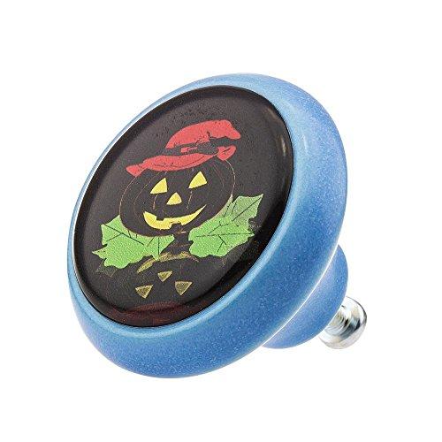 (Möbelknopf Möbelknauf Möbelgriff Halloween Kürbis Jack O'Lantern Scary 03349B aus über 4 0 verschiedenen Farben Mustern und Designs für Kinder Kinderzimmer Kindermöbel)
