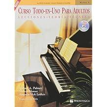 Curso Todo en Uno para Adultos: Nivel 1 con CD (Didattica musicali)
