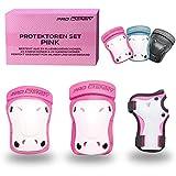 PRO IDENTITY Inliner Schützer Set für Kinder (Pink, S)