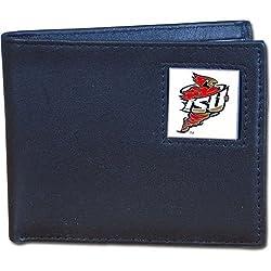 Iowa St. Cyclones Leather Bi-fold Wallet