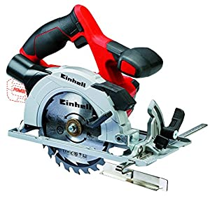 Einhell TE-CS 18 Li Solo 18 V Power X-Change Naked Cordless Circular Saw - Red