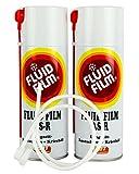 2x FLUID FILM AS-R Rostschutz Korrosionsschutz Hohlraumschutz 400 ml &