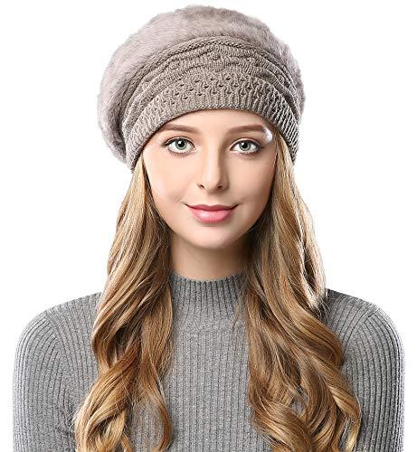 Alleza Boinas Francesa Sombreros Mujer Lana Vintage