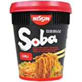 Nissin Soba Chilli Pot Noodle - 8 Pots