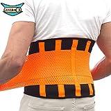 Cintura lombare ZSZBACE per supporto   Tutore per supporto lombare per Allenamento, Sport & Lavoro - Unisex (XXL)