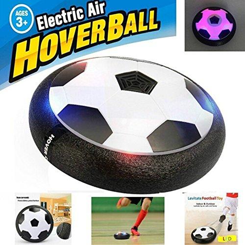 Fayanough Hover Ball, LED Air Power Fußball Luftkissen Indoor / Outdoor Fußball mit Möbelschutz und LED Beleuchtung Fußball Freizeitbälle Perfekt Geschenk für Geburtstag und Kinder