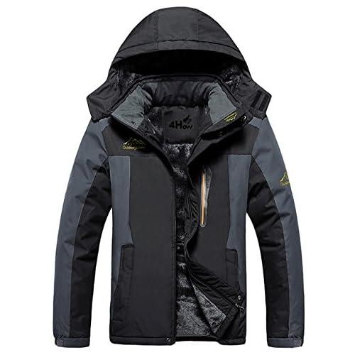 51TRxvgnaKL. SS500  - 4How Men's Sports Outdoor Waterproof Jacket Windproof Rain Coat