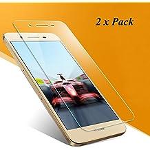 2x Huawei P8 Lite Smart Pellicola protettiva [Non per P8 lite], EJBOTH Premium Vetro Temperato proteggi schermo Cristallo trasparente Invisibile per Huawei P8 Lite Smart - Ultra resistente Anti-bolla