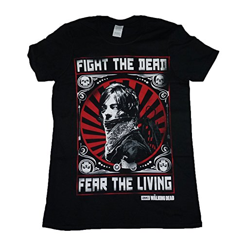 Indy Visuals Walking Dead Daryl Dixon Fight Poster Official Unisex T-Shirt up To XXL 15D