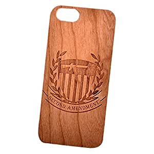 Second Amendment Gun Cherry Wood # 1103 iPhone 6/6s