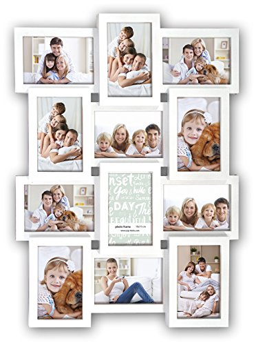 Pick'n'choose - Cornice multipla per foto da parete, colore: Bianco