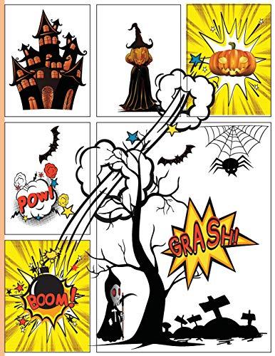 Blank Comic Book Next Generation Trick or Treat Halloween Gift: Multi-templates, Large Big 8.5