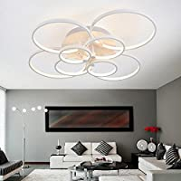 WEITING Superdünne Circel Ringe Moderner Led Decke Kronleuchter Lampe  Wohnzimmer Schlafzimmer Moderne Led Decke Kronleuchter Leuchten