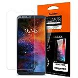 Spigen® Protection écran LG G6, Verre Trempé, Vitre **Easy-Install Kit** [Extreme Résistant aux rayures] *Ultra Claire* protection verre trempé LG G6, Compatible avec coque LG G6 (A21GL21587)