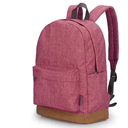 bonways-tela-zaino-pratico-resistente-per-i-giovani-casual-dayspacks-borsa-a-tracolla-rosso-crimson