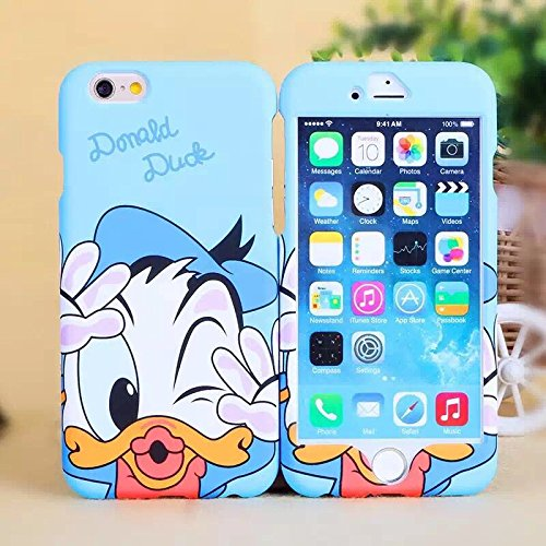 Disney Daisy Donald Duck cover Apple iPhone Piastra Anteriore e Posteriore con sufstm accessori, Donald Duck, iPhone 6/6S