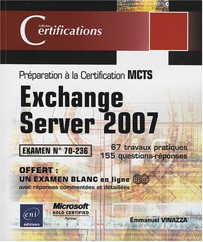 Exchange Server 2007 - examen MCTS 70-236