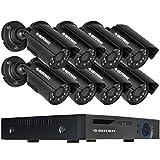 DEFEWAY 720P Überwachungskamera set 8-Kanäle-1080N Hybrid DVR w / 8x 720P kamera system (NO HDD)