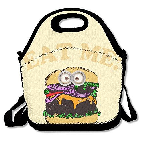 curcy Eat Me hamburguesa Awesome–Bolsa para el almuerzo bolsa para el almuerzo al aire libre Picnic Tamaño Mediano