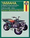 Yamaha YFB250 Timberwolf and Timberwolf 4x4: Atv Owners Workshop Manual